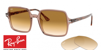 Lenti Ray Ban 1973 SQUARE II originale