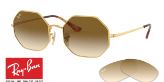 Lenti Ray Ban 1972 OCTAGON Originale